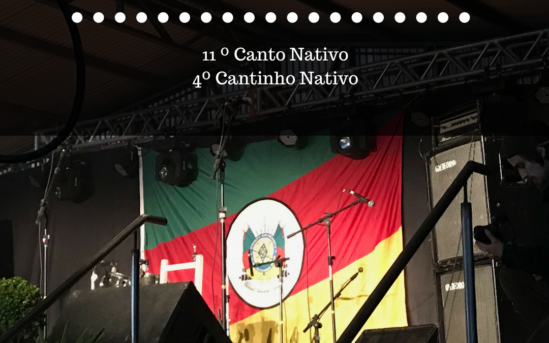 Resultados oficiais do 11º Canto Nativo e do 4º Cantinho Nativo 2018