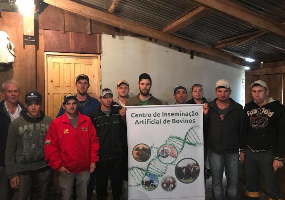 Curso de Inseminação Artificial para produtores rurais