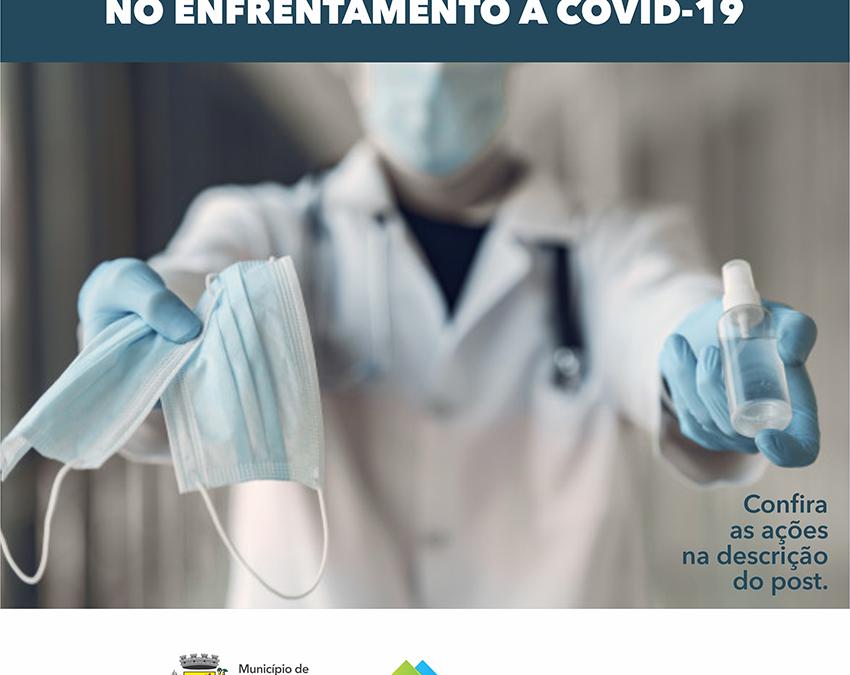 SANTO AUGUSTO ESTÁ TRABALHANDO INTENSAMENTE NO ENFRENTAMENTO À COVID-19