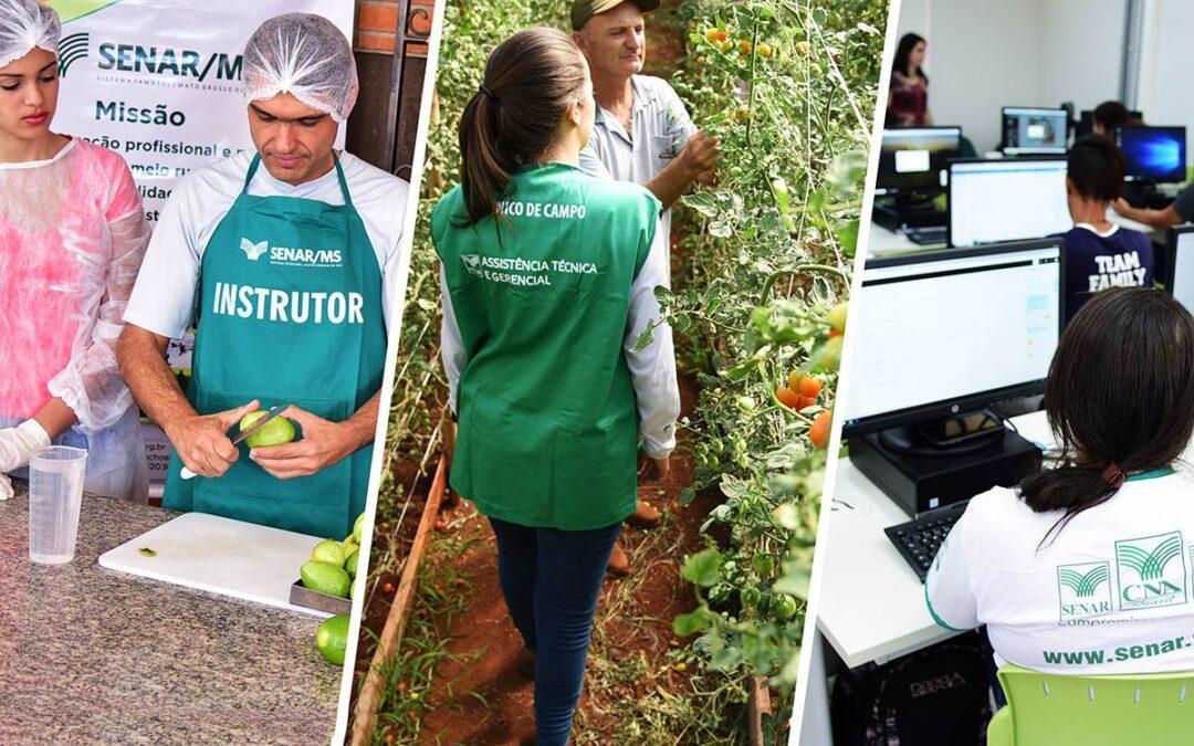 Relatório de Gestão: em cinco anos, Senar/MS levou atendimento a mais de 1,1 milhão de pessoas do meio rural