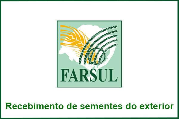 Farsul reforça orientações em relação ao recebimento de sementes do exterior